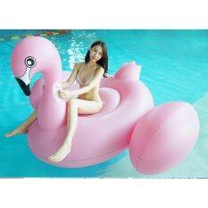 ส่วนลด ห่วงยางแฟนซี แพยางเป่าลม นกฟลามิงโก้ รุ่นใหม่ New Giant Flamingo ขนาด 200X200X140 ซม สมุทรปราการ