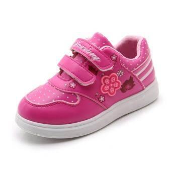 เด็กผู้หญิงรองเท้าออกกำลังกายพื้นผิวหนัง 4 เด็ก 5 ลำลอง 6 เด็กประถม 7 ฤดูใบไม้ผลิใบไม้ร่วง 8 เด็กหญิงวิ่งรองเท้าสไตล์เจ้าหญิง 9 ปีรองเท้า-