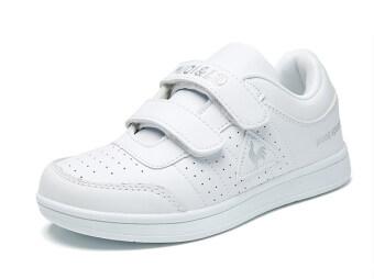 สีขาวระบายอากาศนักเรียนรองเท้าสีขาว
