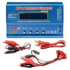 I-Max เครื่องบาลานซ์ชาร์จ เครื่องชาร์จ B6 Lcd Screen Digital Rc Lipo Battery Balance Charger Power Supply.