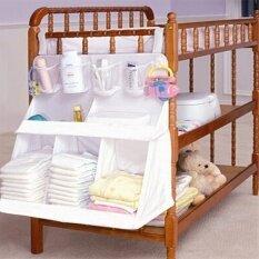 ราคา Ilovebaby ห้องเตียงใหญ่เตียงเสื้อผ้าเด็กผ้าอ้อมกระเป๋าเก็บอยู่หลายเคส Funtion ไนลอนออแกไนเซอร์ Ilovebaby