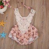 ราคา Infant Baby Girls Lace Floral Bodysuit Summer Romper Clothes Jumpsuit Intl Unbranded Generic เป็นต้นฉบับ