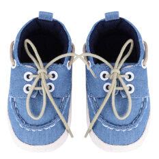 ซื้อ ทารกนุ่มรองเท้า Crib สีฟ้าอ่อน Vakind เป็นต้นฉบับ