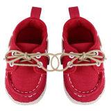 ขาย รองเท้าเด็กอ่อนเปล สีแดง ใน จีน