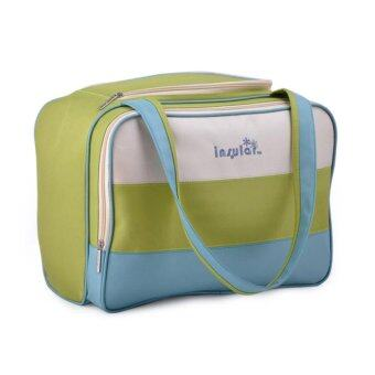 Insular Fashion Multi-function Diaper Bag Large Capacity Waterproof Antimicrobic Mummy Tote Bag Smart Organizer System Baby Nappy Bag Handbag Shoulder Travel Bags (Green) - intl