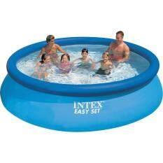 ราคา Intex 28120 Easy Set Pool ขนาด 3 05 M X 76 Cm ราคาถูกที่สุด