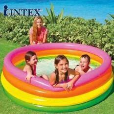 โปรโมชั่น Intex 56441 สระน้ำเป่าลม ทรงกลม ขนาด 168 X 46 ซม Intex
