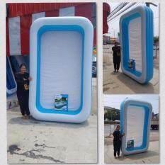 ซื้อ Swim Pool สระว่ายน้ำเป่าลมเด็กขนาด 3 เมตร สีฟ้า ขาว Tm Baby ออนไลน์