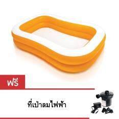 ซื้อ Intex สระว่ายน้ำเป่าลม สำหรับเด็ก รุ่น 57181Np แถม ที่เป่าลมไฟฟ้า ถูก กรุงเทพมหานคร