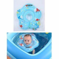 ซื้อ Intime ห่วงยางคอเด็ก สีฟ้า Intime ถูก