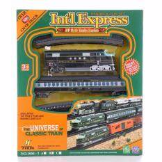 รถไฟพร้อมราง Intl Express Classic Train รถไฟคลาสสิกของเล่น พร้อมราง(คละแบบ).