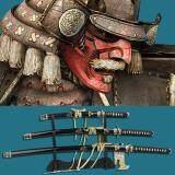 ราคา Japan ดาบชุดญี่ปุ่น ซามูไร คาตานะ มี 3 เล่ม 3 ขนาด Katana Samurai Ninja Sword แท่นวาง กรุงเทพมหานคร
