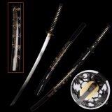 ราคา Japan ดาบซามูไร คาตานะ サムライ Katana Dragon Samurai Sword ใบดาบ เปิดคม ถูก