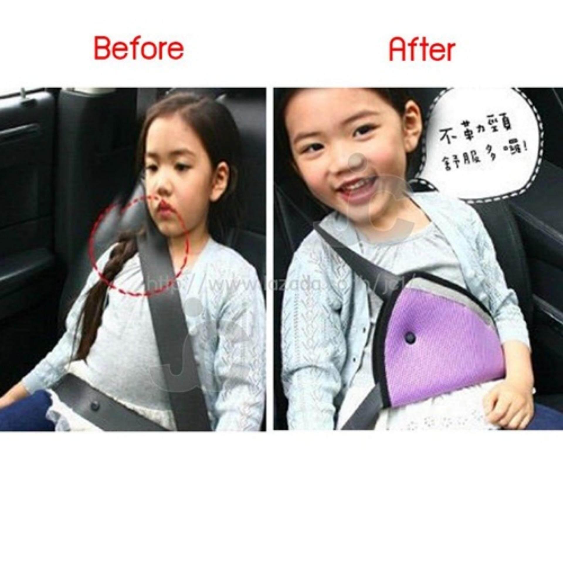 การดู WACA เข็มขัดนิรภัยรถยนต์สำหรับเด็ก ที่ปรับระดับเข็มขัดนิรภัยสำหรับเด็ก ไม่ต้องใช้คาร์ซีท ซื้อที่ไหน