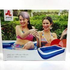 ขาย Jilong สระน้ำเป่าลม สระว่ายน้ำสำหรับเด็ก ขนาด 262X175X50 Cm ใหม่