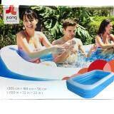 Jilong สระน้ำเป่าลม สระว่ายน้ำสำหรับเด็ก ขนาด 305X183X56 Cm ใหม่ล่าสุด