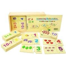 ขาย Jkp Toys ของเล่นเสริมพัฒนาการ ของเล่นไม้ เเผ่นไม้จับคู่ตัวเลขกับภาพ พร้อมโจทย์บวกเเละลบ ออนไลน์ ใน กรุงเทพมหานคร