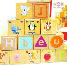 ส่วนลด Jkp Toys ของเล่นไม้ เสริมพัฒนาการ บล็อคไม้ลูกเต๋า Abc พร้อมภาพเเละคำศัพท์ประกอบ กรุงเทพมหานคร