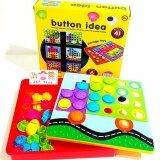 ขาย Jkp Toys ของเล่นเสริมพัฒนาการ ปักหมุดจัมโบ้ Button Art ใหม่