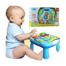 โปรโมชั่น J Toys ของเล่นเด็กโต๊ะ กิจกรรมดนตรีท้องทะเลน่ารัก Musical Learning Table มีเสียง มีไฟ ใน กรุงเทพมหานคร