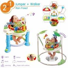 ส่วนลด Jumper Walker 2In1 จัมเปอร์ รถหัดเดิน ในชุดเดียว เก้าอี้กระโดด 360 องศา ของเล่นเสริมพัฒนาการ พร้อมเสียงเพลงดนตรีสนุกน่ารัก Nontoxic Thailand