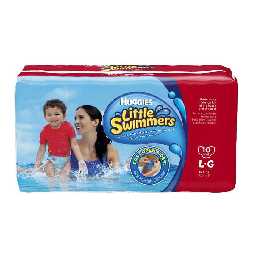 กางเกงผ้าอ้อมว่ายน้ำ Huggies Little Swimmers Size L