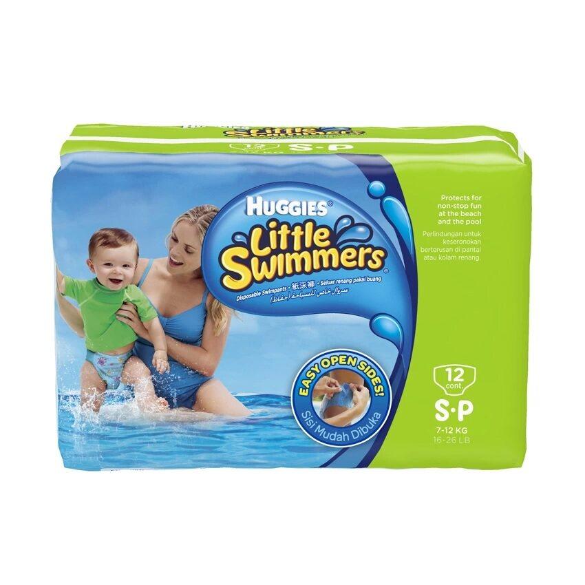 ซื้อที่ไหน กางเกงผ้าอ้อมว่ายน้ำ Huggies Little Swimmers Size S