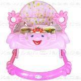 K Baby รถหัดเดิน รูปเด็กยิ้ม ของเล่น เสียงดนตรี ปรับระดับได้ สีชมพู K Baby ถูก ใน ชลบุรี