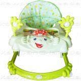 ราคา K Baby รถหัดเดิน รูปเด็กยิ้ม ของเล่น เสียงดนตรี ปรับระดับได้ สีเขียว เป็นต้นฉบับ