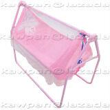 ราคา K Baby เปลไกวเด็กอ่อน มุ้งกันยุงและแมลง รุ่น C 6148 สีชมพู K Baby เป็นต้นฉบับ