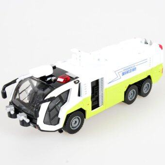 KDW 1:50 Scale Diecast Airfield Water cannons FireTruck Construction Vehicle Cars Model Toy - intl
