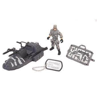 ของเล่น หุ่นทหารพร้อมรถ TRUE HEROES SOLDIER FIGURE SMALL VEHICLE