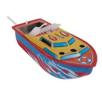 ของเล่นสังกะสี เรือป๊อกแป็ก