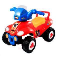 ส่วนลด สินค้า Kiddieland รถขาไถ Mickey N Friends Steerable Atv Ride On