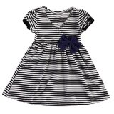 ขาย Kids Girls Summer Striped Bow Dress Sleeveless Princess Party Dress 90Cm Intl Vakind เป็นต้นฉบับ