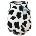 Kids Infant Baby Toddler Cartoon Cotton Sleeveless Triangle Suit Romper Jumpsuit Climb Jumpsuit for 7-12 months Dairy Cow Size M
