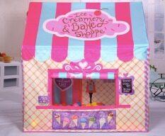 ทบทวน Kids Outdoor Play Tent Foldable House Style