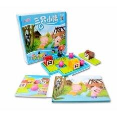 ขาย Kidzashop เกมวางแผนลูกหมูสามตัว เล่นสนุก ฝึกเชาว์ปัญญา Kidzashop ผู้ค้าส่ง