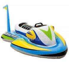 ขาย Knk Toy แพ เป่าลม เด็กนั่ง รูปทรง เจ็ทสกี Wave Rider Ride On สีฟ้า 57520 เป็นต้นฉบับ