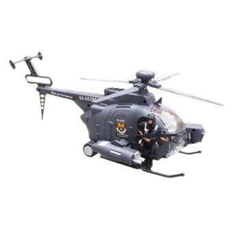 KNK TOY ของเล่น เครื่องบิน คอปเตอร์ ตำรวจ ใส่ถ่าน มีเสียง มีไฟ 92286