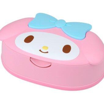 กระดาษเปียก พร้อมกล่องกันระเหย My Melody(Pink)