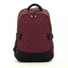 ขาย กระเป๋าเป้สะพายหลังสำหรับคุณแม่ กระเป๋าใส่ผ้าอ้อม ขวดนมเด็ก กันน้ำ รุ่น Dn083 สีเลือดหมู ใหม่
