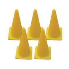 ขาย กรวยซ้อมวิ่ง ขนาด 40 ซม ชุด 5 อัน สีเหลือง Sport Training Cone ออนไลน์ ใน ไทย