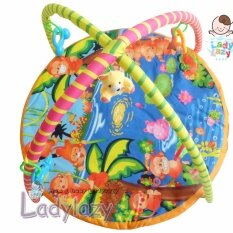 ขาย ซื้อ Ladylazy ที่นอนโมบายเพลยิมเสริมสร้างพัฒนาการ ลายลิงน้อย กรุงเทพมหานคร
