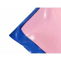 ทบทวน ที่สุด Laeninn ผ้ายางรองกันเปื้อน ผ้ายางรองฉี่ 250X140 เซนติเมตร ไร้รอยต่อ 1 ผืน สีฟ้า ชมพู