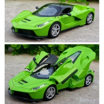 LaFerrari-Pull Back Toy Cars 1/32 Scale Alloy Diecast Car Model Kids Toys Collection Gift - intl