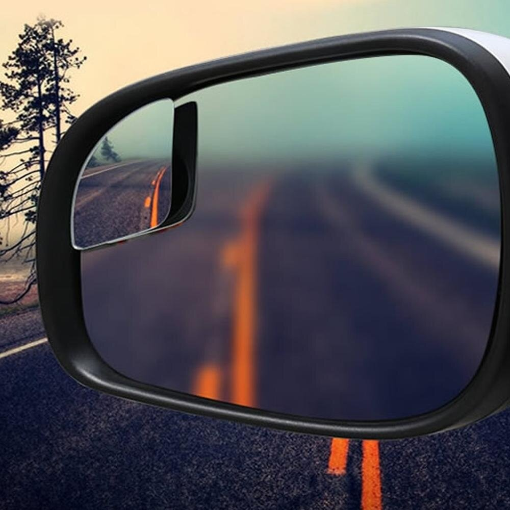 lanyasy Blind Spot Mirrors, Car Mirror For Blind Side, Door Mirrors For Large Image And Traffic Safety, Awesome Rear View,Adjustable 2 Pieces,Sector - intl