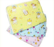 ราคา Leegoal Baby Infant Reusable Cotton Cloth Waterproof Urinal Pad Cover Mat Mattress Pad Middle Size Intl Intl