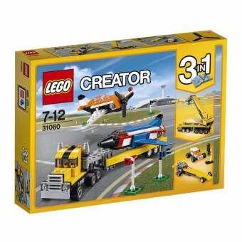 LEGO ตัวต่อเสริมทักษะ เลโก้ แอร์โชว์ เอส Airshow Aces - 31060-