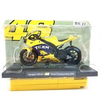 Leo Motogp 1:18 YZR-M1 #46 World Champion 2006 Model Motorcycle Collectible - intl